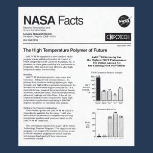 nasa facts polymer
