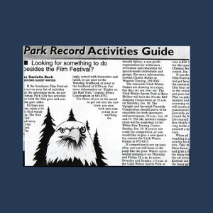 writing park record